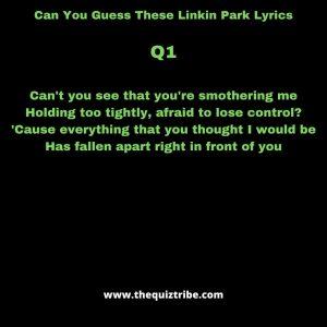 linkin park quiz